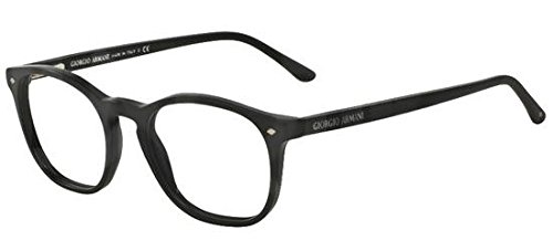 Giorgio Armani FRAMES OF LIFE AR 7074 MATTE BLACK 50/19/145 men eyewear ()