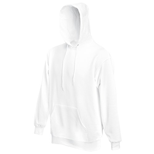 Sweat À Capuche Classique Blanc 80 20 SqwppEB