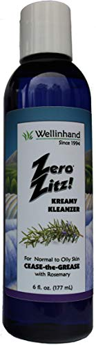 (WELL IN HAND Zero Zitz! Kreamy Kleanzer Cease-the-Grease 6)