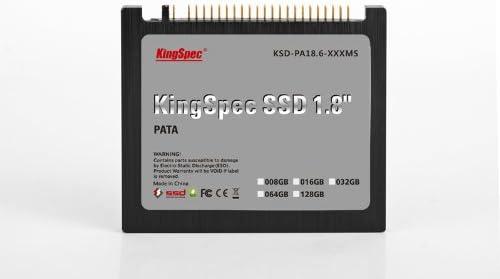 KingSpec SSD 1,8 pulgadas PATA (IDE 44pin) Disco Duro de Estado ...