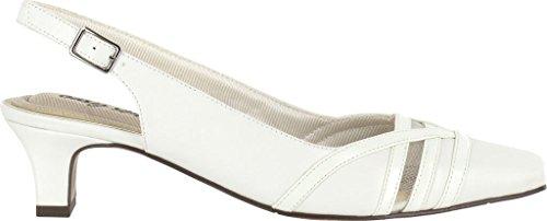 Pump Street White Kristen Dress Women's Patent Easy qIFOw4O