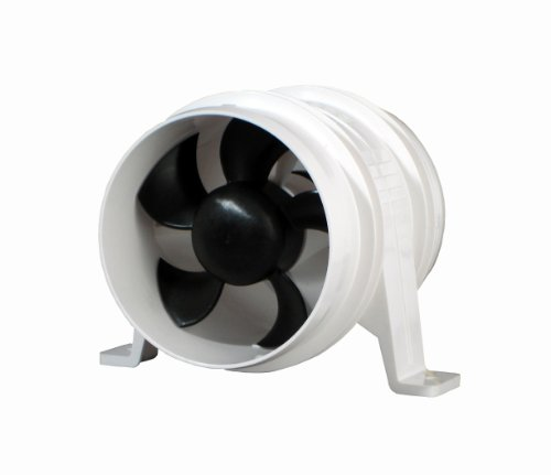 - Attwood Quiet Blower Water Resistant (White, 4-Inch)