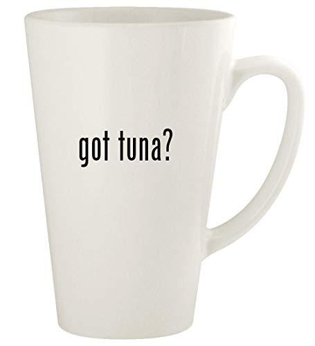 got tuna? - 17oz Ceramic Latte Coffee Mug Cup, White
