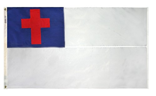 Outdoor Christian Flag by AT001