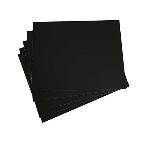 Black Presentation Board - Aa Super Black Mounting Board 15X20