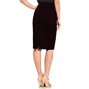 Stars and You Formal Pencil Skirt with Elastic Waist Band
