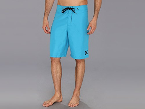 Hurley Men's One and Only 22 Inch Boardshort, Cyan/Hurley, 32 (Cyan Shorts)