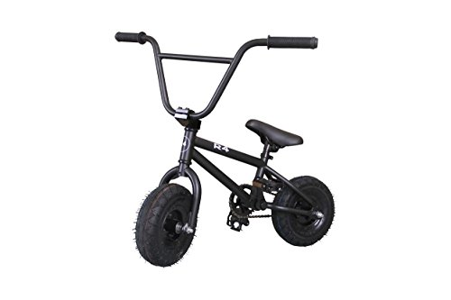 Best Review Of R4 Matte Black Complete Pro Mini Bmx Bicycle Trick Jump Freestyle With Pegs, USA