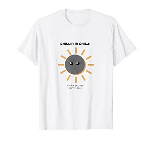 (Solar Eclipse T-Shirt: Chillin in Chile July 2 2019 T-shirt)