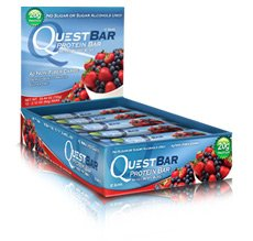 Quest Nutrition Protein Bars, Mixed Berry Bliss, 12 Count (Pack of 12)