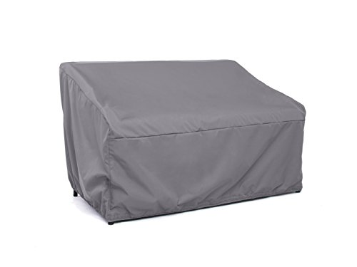CoverMates – Outdoor Patio Loveseat Cover – 64W x 34D x 30H – Elite Collection – 3 YR Warranty – Year Around Protection- Charcoal by CoverMates