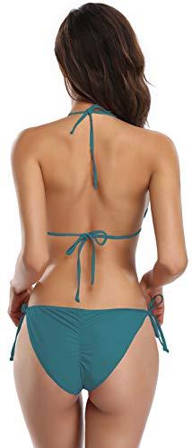 SHEKINI Femme Maillots de Bain Classique Sexy Triangle Femme Bikini de Plage