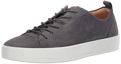 ECCO Men's Soft 8 Tie Sneaker Magnet Summer Perforated 40 M EU (6-6.5 US) from ECCO
