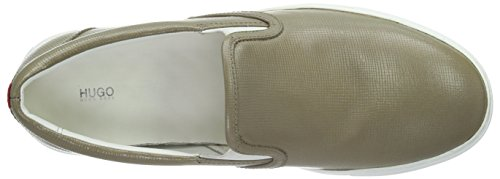 HUGO Cleah-Vs 10191394 01, Mocassini Donna, Beige (Dark Beige 250), EU
