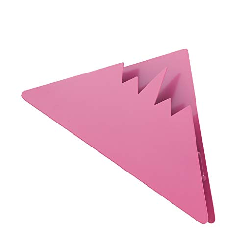 Prettyia Stainless Steel Coffee Filter Holder Coffee Paper Storage Rack Coffee Filter Paper Display Stand, 4 Colors Available - Pink by Prettyia (Image #7)