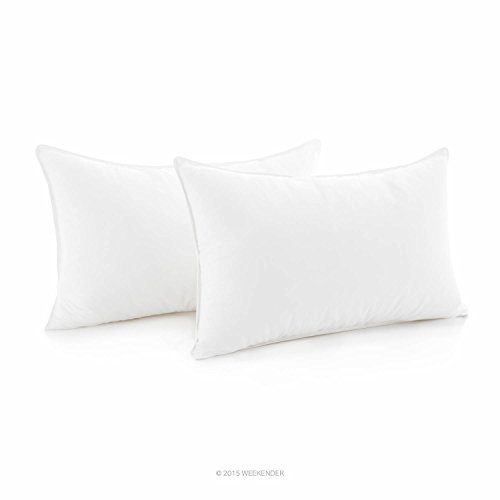 Weekender Down Alternative Pillow with 100% Cotton Cover - S