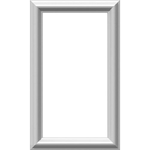 "Ekena Millwork PNL12X20AS-01 12""W x 20""H x 1/2""P Ashford Molded Classic Wainscot Wall Panel from Ekena Millwork"