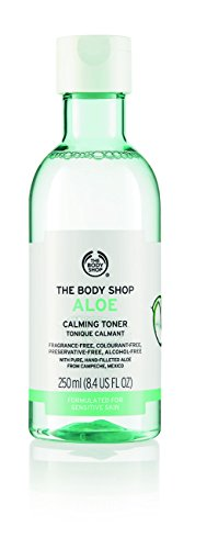 The Body Shop Aloe Calming Toner, Paraben-Free Facial Toner, 8.4 Fl. Oz. ()
