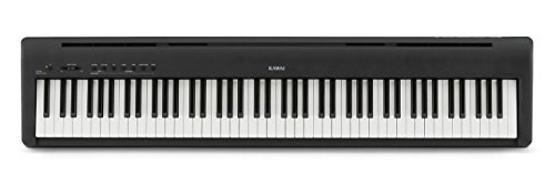 Kawai ES110 88-Key Digital Piano with Speakers - Gloss Black