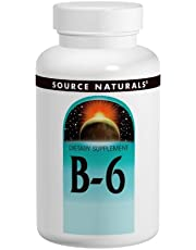 B-6 by Source Naturals - 100 tablet, 50 mg