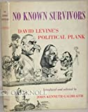 img - for No Known Survivors - David Levine's Political Plank book / textbook / text book