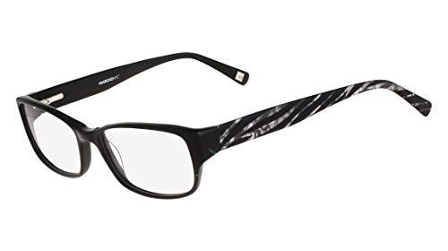 Óculos Marchon Nyc M-Roseland 001 Preto Estampado Lente Tam 51