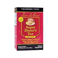 Laci Super Dieters Tea, Cranberry Twist 15 Bags (Pack of 2) Natrol