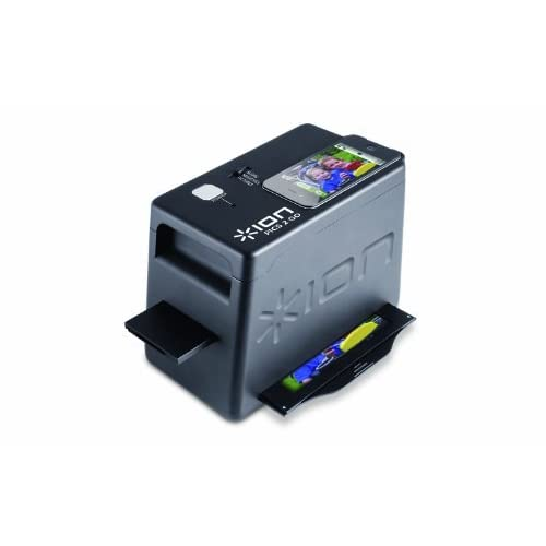 Ion ISC31 iPics 2 Go Photo Slide and Negative Scanner for iPhone 4/4S Computer, compter, computor