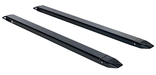 Vestil-FE-4-96-BK-Fork-Extension-Pair-96-L-x-4-W-Black-Pack-of-2