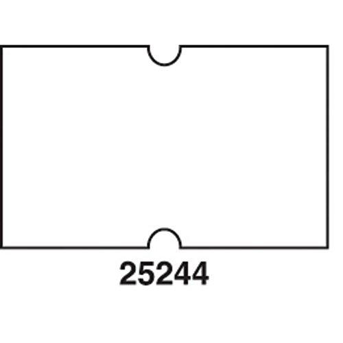 - HUBERT Plain White Label for HUBERT 1-Line Pricing Gun - 21mmL x 13mmH