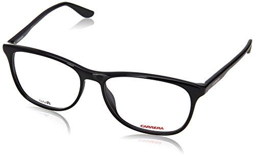 Carrera 6622 Eyeglass Frames CA6622-0D28-5516 - Shiny Black Frame Lens Diameter 55mm Distance