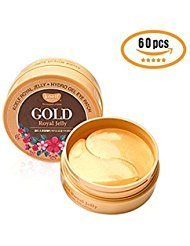 Premium Intensive Eye Mask Sheet 60pcs Wrinkle Patch - Skin Around Eyes Shining Brightly with Korea Jewelry Eye Patches (Royal Jelly) Dream Teddy Sheet