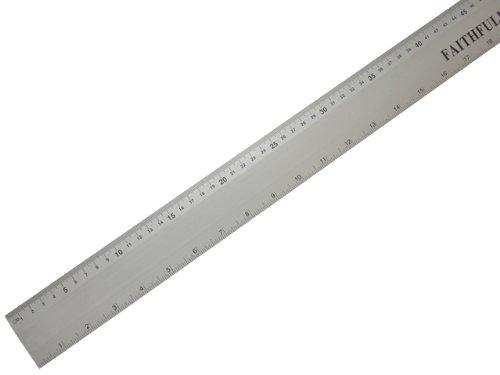 Faithfull RULE1000 Aluminium Rule 1m/39-inch