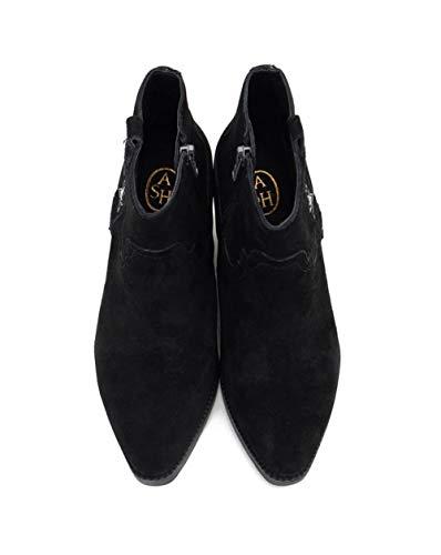 Wedge Black Ash Boot Goldie Black Footwear Suede SISWHfw1q