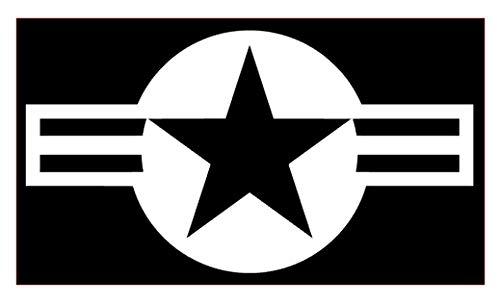 US Air Force Star Vinyl Sticker Decals for Car Bumper Window MacBook pro Laptop iPad iPhone (8