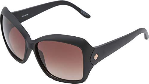 Spy Optics Women's Honey Femme Fatale Cateye Sunglasses,Black,49 ()