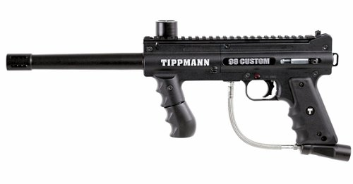 TIPPMANN 98 Custom Paintball Marker (Black) by Tippmann