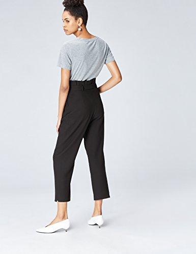 Amazon Brand - find. Women's High Waist Paperbag Pants 16