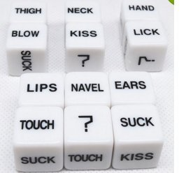 Couples dice game