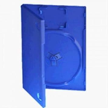 Dragon Trading® - Juego de 25 cajas para juegos de Playstation PS2, color azul: Amazon.es: Electrónica