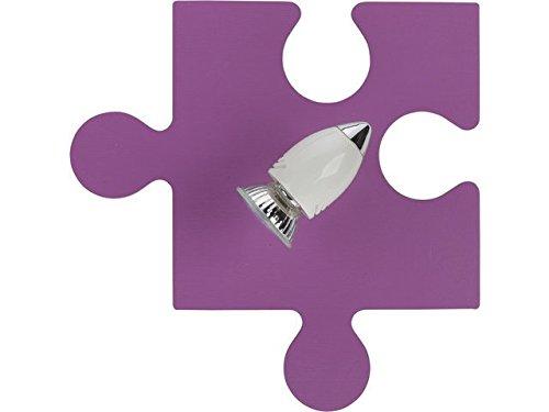 Puzzle rosse i applique da parete lampada da parete lampada stanza