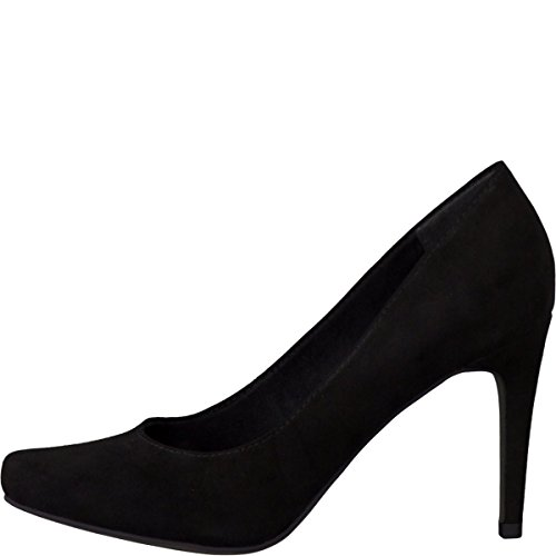 Tamaris 1-1-22411-25-906 - Zapatos de vestir de Material Sintético para mujer Negro - 906BLACK