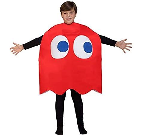 Funidelia Disfraz de Fantasma Pac-Man Blinky Infantil: Amazon.es ...