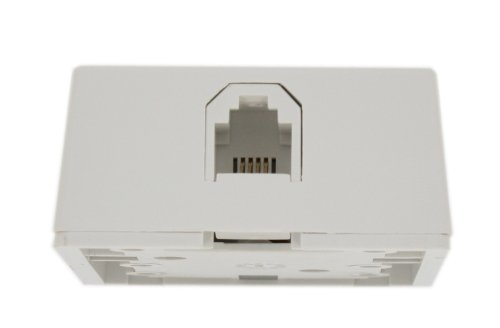 Leviton 4625A-24W Type 625A2 Surface Mount Jack, ()