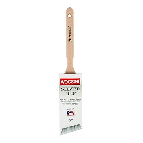 Wooster Brush 5221-2 Silver Tip Angle Sash Paintbrush, 2-Inch