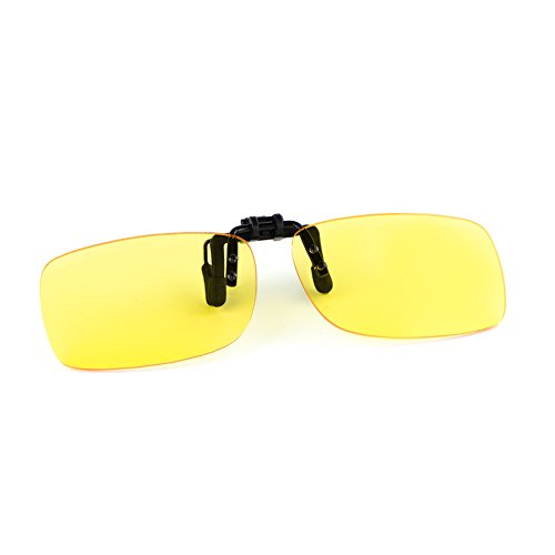 Cyxus Blue Light Blocking Sunglasses with Clip On Anti Eyestrain Yellow - Buy Sunglasses On Clip