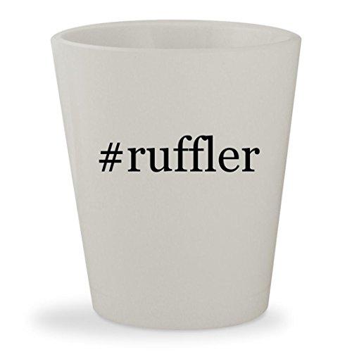 Price comparison product image #ruffler - White Hashtag Ceramic 1.5oz Shot Glass