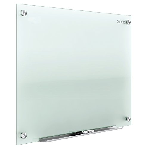 Quartet Glass Whiteboard, Non-Magnetic Dry Erase White Board, 4' x 3', Infinity, Frosted Surface (G4836F)
