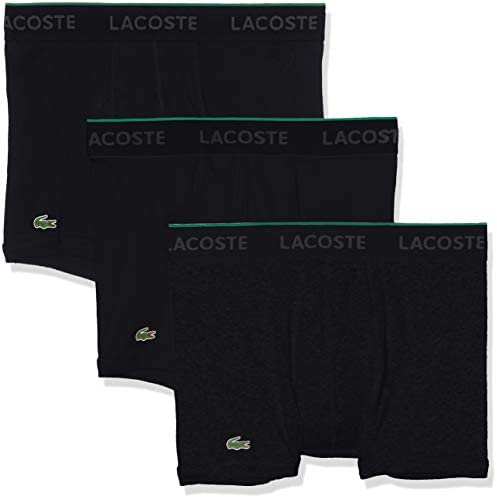 Multipack Lacoste Mens Underwear Cotton Stretch Trunks
