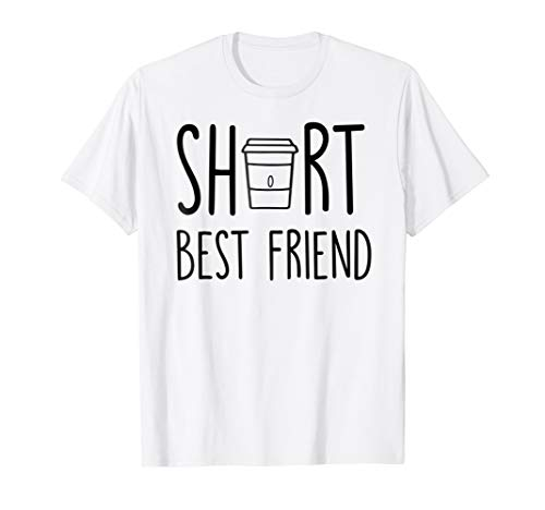 Short Best Friend BFF TShirt - Christmas Birthday Gifts (Tall And Short Best Friends)